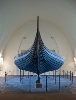 The Gokstad viking ship